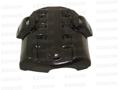 CARBON FIBRE ENGINE COVER FOR 2004-2005 BMW E60 545I / E63 645CI
