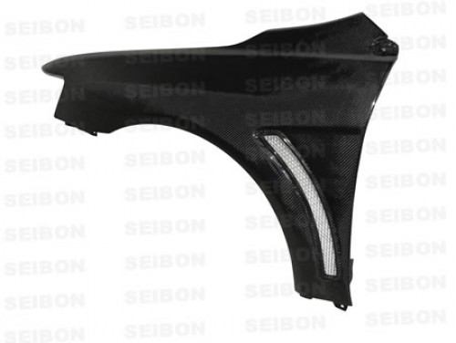 Carbon fibre wings for 2008-2012 Mitsubishi Lancer EVO X (10mm Wider) (pair)