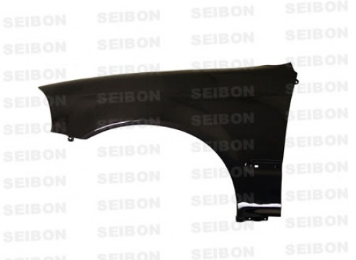 OEM-STYLE CARBON FIBRE WINGS FOR 1996-1998 HONDA CIVIC - Straight Weave