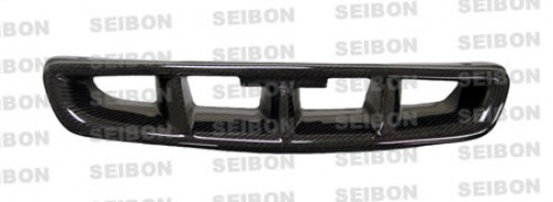 MG-style carbon fibre front grille for 1996-1998 Honda Civic