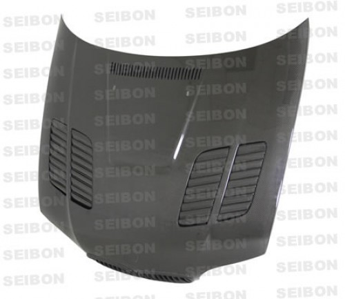 GTR-STYLE CARBON FIBRE BONNET FOR 2004-2006 BMW E46 3 SERIES COUPE