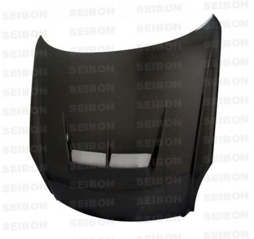 JS-style carbon fibre bonnet for 2003-2007 Infiniti G35 2DR
