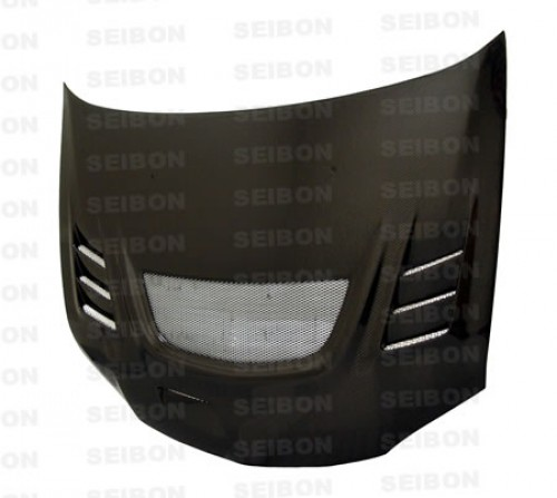 CW-style carbon fibre bonnet for 2003-2007 Mitsubishi Lancer EVO