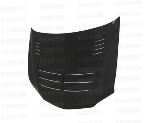 TS-style carbon fibre bonnet for 2003-2007 Mitsubishi Lancer EVO