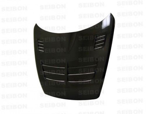 TSII-style carbon fibre bonnet for 2004-2008 Mazda RX8