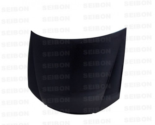 OEM-STYLE CARBON FIBRE BONNET FOR 2005-2006 KIA SPECTRA - Straight weave