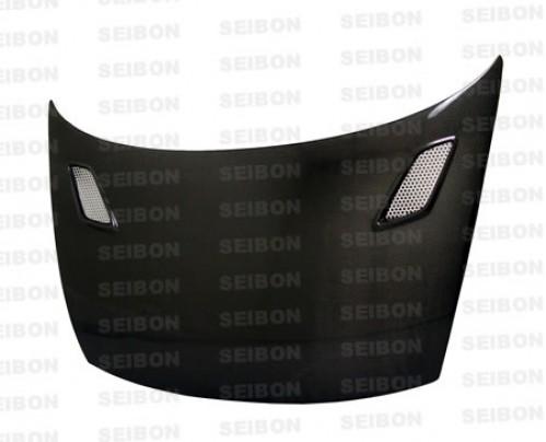 MG-style carbon fibre bonnet for 2006-2010 Honda Civic 2DR