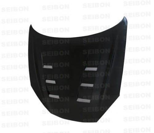 TS-style carbon fibre bonnet for 2007-2008 Hyundai Tiburon