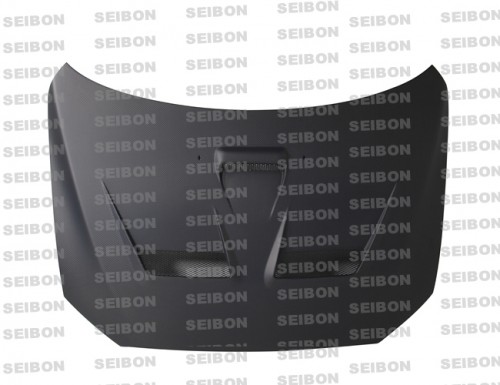 CW-style DRY CARBON bonnet for 2008-2012 Mitsubishi Lancer EVO X..*ALL DRY CARBON PRODUCTS ARE MATTE FINISH!