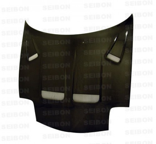KS-style carbon fibre bonnet for 1993-2002 Mazda RX-7