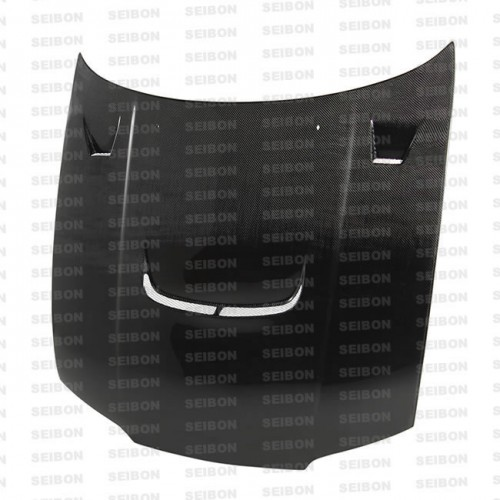 JU-style carbon fibre bonnet for 1995-1996 Nissan R33 GT-R