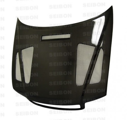 ER-style carbon fibre bonnet for 1996-2001 Audi A4