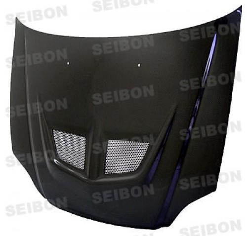 EVO-style carbon fibre bonnet for 1996-1998 Honda Civic