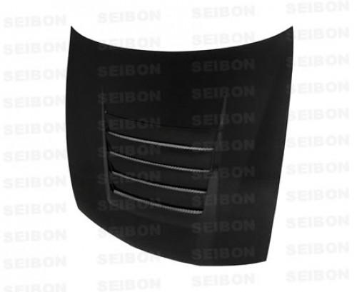 TR-style carbon fibre bonnet for 1997-1998 Nissan 240SX