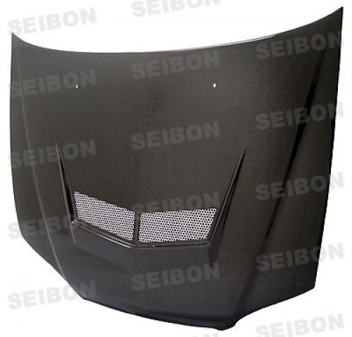 VSII-style carbon fibre bonnet for 1998-2002 Honda Accord 2DR