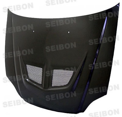 EVO-style carbon fibre bonnet for 1999-2000 Honda Civic