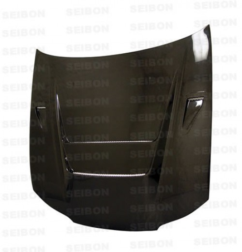 DVII-style carbon fibre bonnet for 1999-2001 Nissan S15