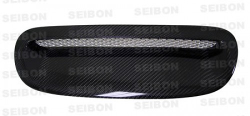 OEM-style carbon fibre bonnet scoop for 2002-2006 BMW Mini Cooper