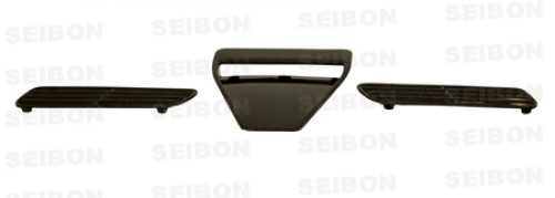 OEM-style carbon fibre bonnet scoop for 2008-2012 Mitsubishi Lancer EVO X