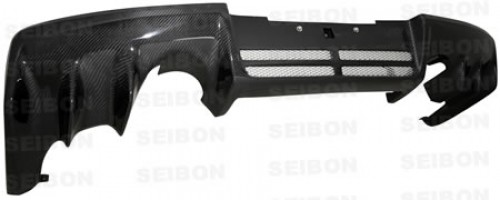 OEM-style carbon fibre rear diffuser for 2008-2012 Mitsubishi Lancer EVO X