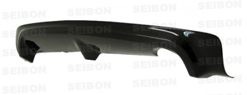 MG-style carbon fibre rear lip for 2006-2010 Honda Civic 4DR JDM / Acura CSX