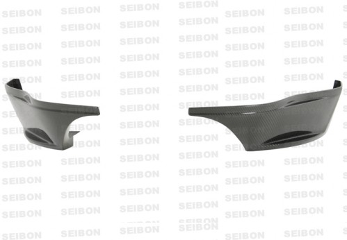 SR-style carbon fibre rear lip for 2009-2010 Nissan 370Z