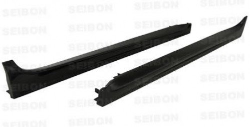 OEM-style carbon fibre side skirts for 2008-2012 Mitsubishi Lancer EVO X