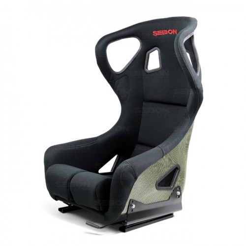 Carbon Kevlar Bucket Racing Seat Type-FC - Black