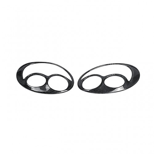 CW-STYLE CARBON FIBRE EYEBROWS FOR 2002-2003 SUBARU IMPREZA / WRX