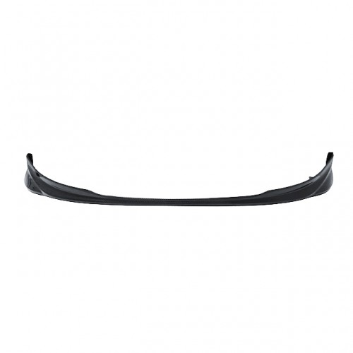 OEM-style carbon fibre front lip for 2007-2008 Toyota Yaris Liftback (straight weave)