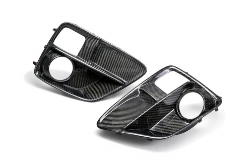 CARBON FIBRE FOG LIGHT SURROUND FOR 2015-2017 SUBARU WRX / STI