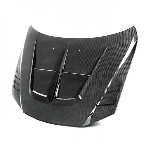 TA-Style Carbon fibre bonnet for 2003-2006 Mazda 6