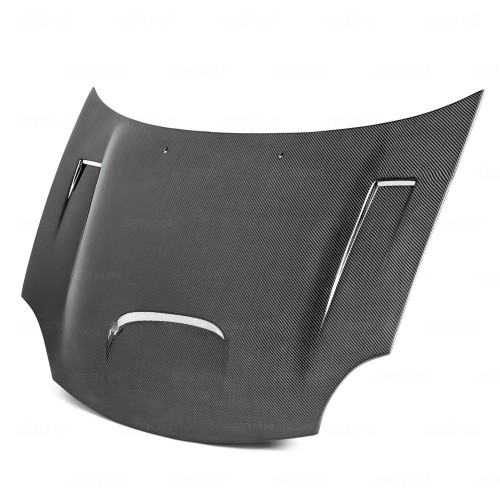 DV-Style Carbon fibre bonnet for 2003-2005 Dodge Neon SRT-4
