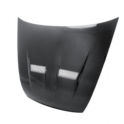 XT-STYLE CARBON FIBRE BONNET FOR 2003-2007 HONDA ACCORD SEDAN
