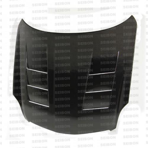 TS-style carbon fibre bonnet for 2003-2004 Infiniti G35 4DR