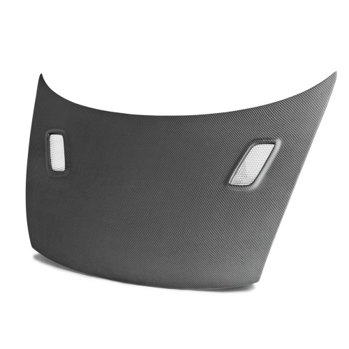 MG-style carbon fibre bonnet for 2006-2010 Honda Civic 2DR (Matte Finish)