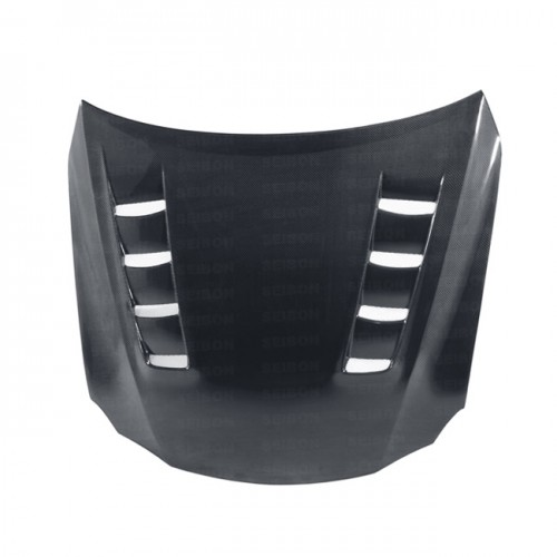 TSII-STYLE CARBON FIBRE BONNET FOR 2006-2013 LEXUS IS
