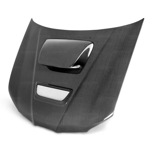 RC-STYLE CARBON FIBRE BONNET FOR 2006-2007 SUBARU IMPREZA / WRX / STI - Straight Weave