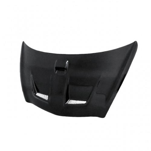 MG-Style Carbon fibre bonnet for 2007-2008 Honda Fit (Straight Weave)