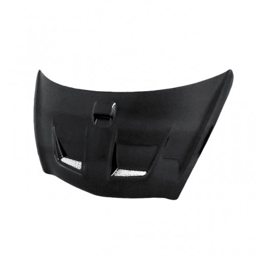 MG-Style Carbon fibre bonnet for 2003-2008 Honda Jazz (JDM) (Straight Weave)