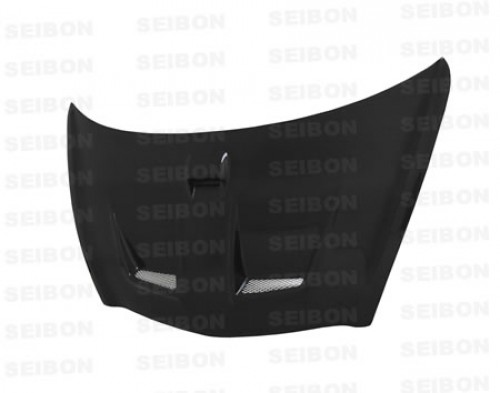 MG-Style Carbon fibre bonnet for 2003-2008 Honda Jazz (JDM)