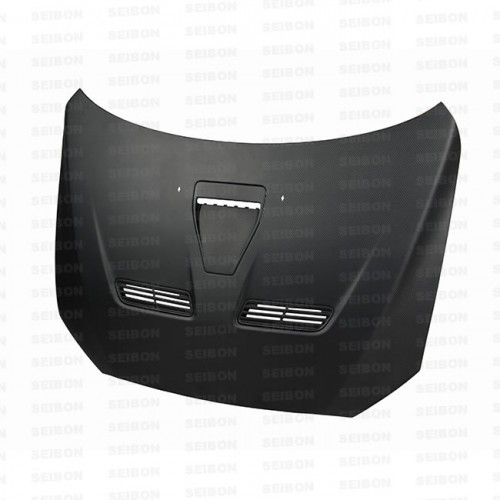 OEM-style DRY CARBON bonnet for 2008-2012 Mitsubishi Lancer EVO X..*ALL DRY CARBON PRODUCTS ARE MATTE FINISH!