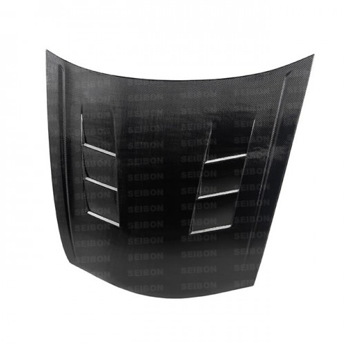 TS-style carbon fibre bonnet for 2008-2010 Honda Accord 4DR