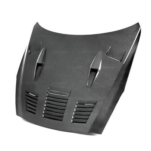 GTII-STYLE CARBON FIBER BONNET FOR 2009-2016 NISSAN GT-R