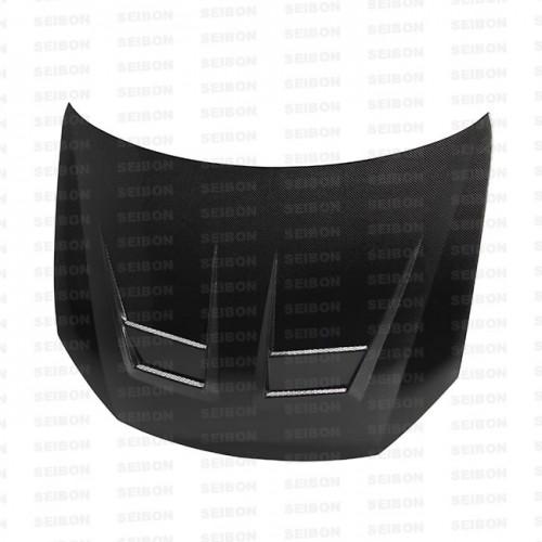 DV-style carbon fibre bonnet for 2010-2014 VW Golf / GTI (Shaved)