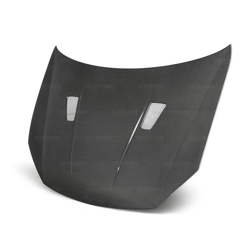 TM-STYLE CARBON FIBRE BONNET FOR 2010-2014 VOLKSWAGEN GOLF / GTI / R (Shaved)