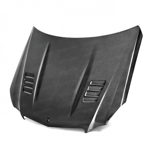 CT-STYLE CARBON FIBRE BONNET FOR 2010-2013 MERCEDES-BENZ E-CLASS SALOON / ESTATE