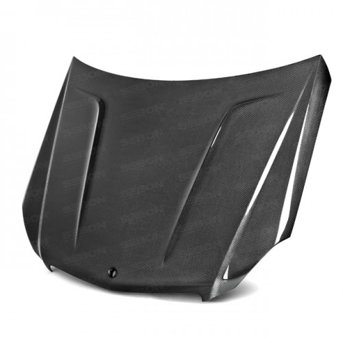 TA-Style Carbon fibre bonnet for 2012-2014 Mercedes Benz C-Class (Does not fit C-63)