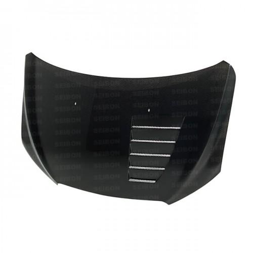 CW-style carbon fibre bonnet for 2012-2015 Chevrolet Sonic