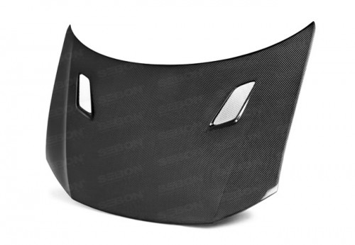 MG-Style Carbon fibre bonnet for 2013-2015 Honda Civic 4DR